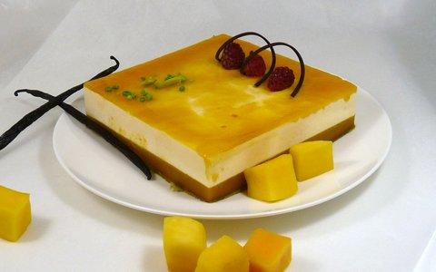 2019 Bavarois carre mango vanille (002)