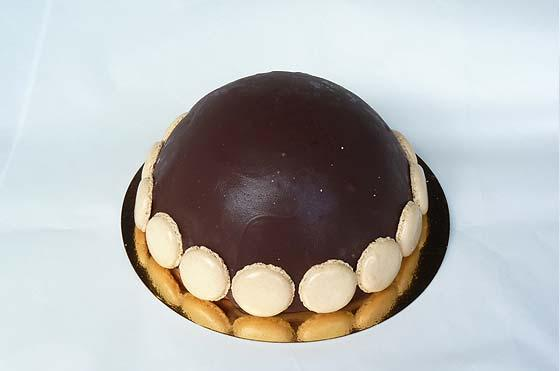 bombe chocolade ijstaaart