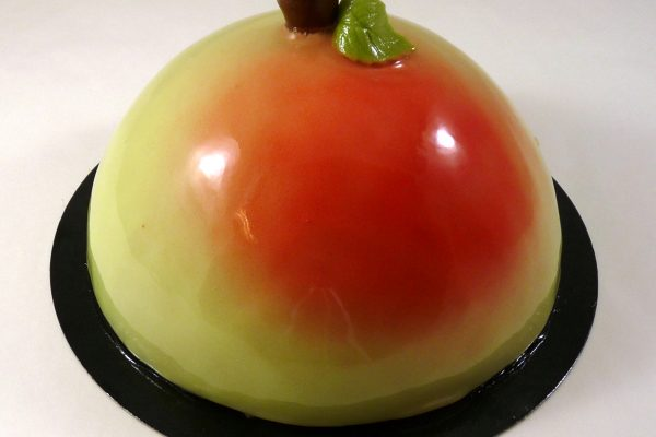 2021-03 Bombe bavarois apple blush