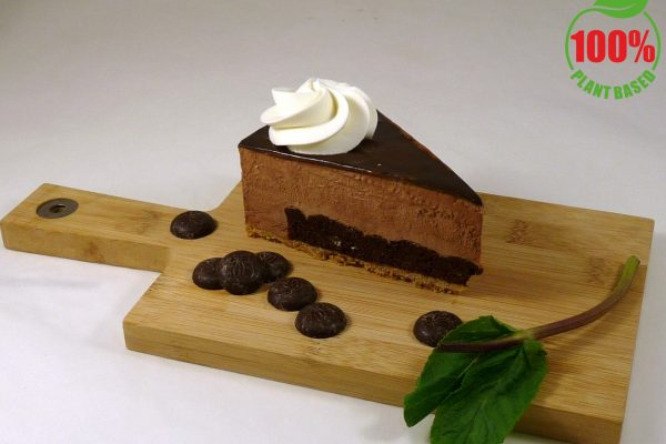 chocolade punt met logo